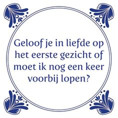 Geloof je in liefde Postive Vibes, Funny Quotes, Life Quotes, Qoutes About Love, One Liner, Affirmations, Haha, Jokes, Inspirational Quotes