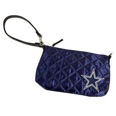 Dallas Cowboys NFL Quilted Wristlet (Navy)