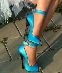 Beautiful blue heels....