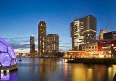 Rotterdam, nieuwbouw op de Wilhelminapier, de BOSTON/SEATTLE.