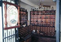 ST. CROIX --5. Apothecary Hall - A short distance up Company Street is Apothecary Hall, an 18th century pharmacy now housing a charming collection of shops and restaurants