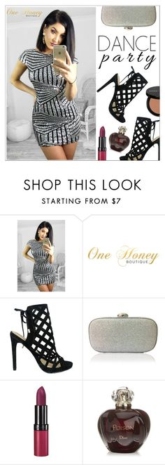 """""""One Honey Boutique (#1)"""" by shambala-379 ❤ liked on Polyvore featuring Iris, Rimmel, Christian Dior and Bobbi Brown Cosmetics"""