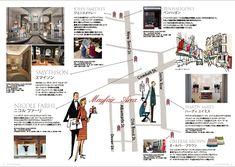 VULCANIZE London「ヴァルカナイズ・マガジン 」 (Vol.8)秋冬号 ■特集「ロンドン・ルーツをたどる名店めぐり」イラストを担当させて頂きました。