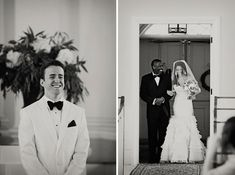 I love wedding pictures that give me a crush on both the bride and the groom.