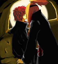 Sasori And Deidara, Aika, Naruto, I Ship It, Akatsuki, Pixiv, Meme, Character, Beautiful
