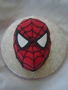 Spiderman Cake by springlakecake, via Flickr