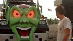 emilio estevez and truck maximum overdrive stephen king Best Horror Movies, Horror Films, Scary Movies, 80s Movies, Best Stephen King Movies, Maximum Overdrive, Emilio Estevez, Green Goblin, Best Horrors