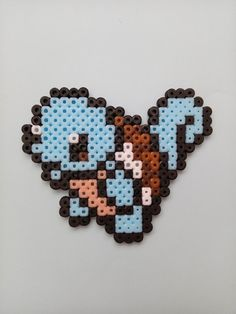 Squirtle from Perler beads by mariqlz.deviantart.com on @DeviantArt