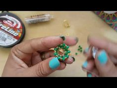Hermosos Aretes y Cristales - El Rincon De Rossy - YouTube Tatting Jewelry, Jewelry Making, Turquoise, Jewels, Beads, Beautiful, How To Make, Youtube, Tutorials