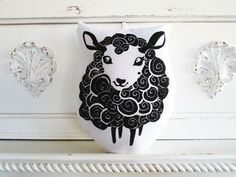 Girly Black Sheep Tattoo