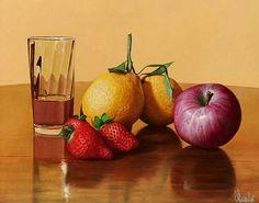 Naturalezas muertas al óleo, Realismo de Giuseppe Muscio | Imágenes Arte Temático