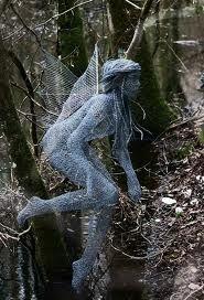 Derek's wire art..fantasy..