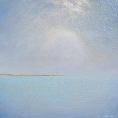 I would love to have this painting. So simple but stunningly beautiful.