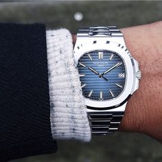 """ ""The beautiful Patek Philippe Nautilus  Photo by @olemathiesen"" by @dailywatch on Instagram http://ift.tt/1P2tx8r """