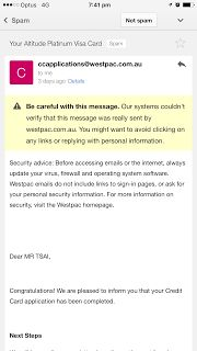 Westpac Bank Email went into Spam   Bank Email Spam Technology
