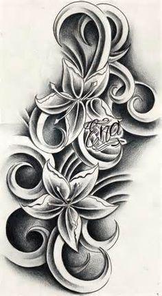 Image detail for -... Flower Tattoos Designs   Hibiscus Flower Tattoo Design   Tattoo