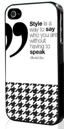 Dress Your Phone in Style with the Rachel Zoe Quote Phone Case trendhunter.com
