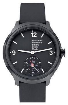 Mondaine 'Helvetica' Smart Watch, 44mm