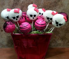 Monster High cake pop mix   Flickr - Photo Sharing!
