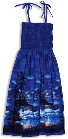 e4d3ad75b2 RJC Womens Moonlight Surf Elastic Tube Top Sundress in Royal Blue ·  SundressesTribal PrintsFunny ShirtsSmockingMoonlightRoyal ...