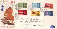 1968- One our parents has 11 Old Hong Kong mail boxes.  Would be awesome for the 50 Year display