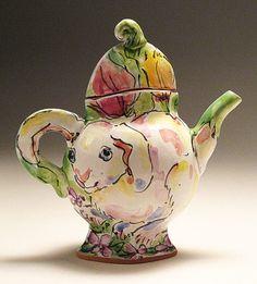 Carol and Richard Selfridge - teapot