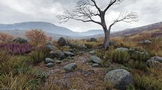 Environment done by a Simon Barle (Vegetation Artist working for Dice)