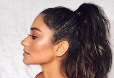 Say goodbye to boring ponytail hairstyles and hello to a chic, fashionable pony. We rounded up a list of ideas for you to give a try. Natural Braided Hairstyles, Faux Locs Hairstyles, Natural Hair Twists, Crochet Braids Hairstyles, Permed Hairstyles, Headband Hairstyles, Vintage Hairstyles, Black Hairstyles, Pin Curls Short Hair