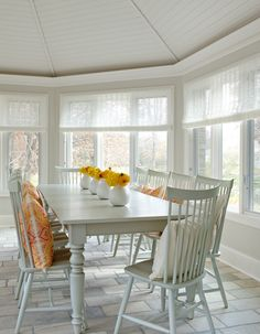 Bria Hammel Interiors | Sunfish Lake | Sunroom
