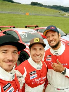 Felix Neureuther, Marcel Hirscher and Aksel Lund Svindal. Lund, Ski Racing, Alpine Skiing, Apres Ski, World Cup, Beautiful People, Football, Baseball Cards, Outdoor