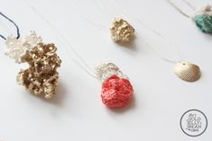 DIY Jewelry_0007_Dipped Coral Gold Shells