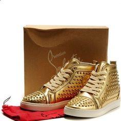 Christian Louboutin Sneakers Gold