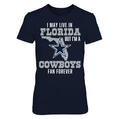 Dallas Cowboys - Fan In Florida - Official Apparel - this licensed gear is  the perfect clothing for fans. Makes a fun gift! 7cfdbd37b