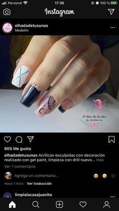 Get Nails, Diana, Nail Designs, Nail Art, Nail Ideas, Enamel, Amor, Simple Toe Nails, Short Nail Manicure