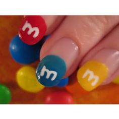 m&m nails.