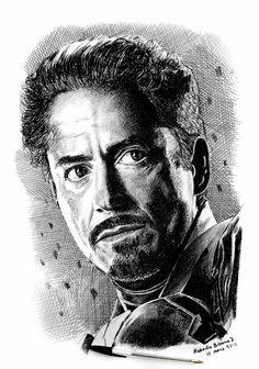 Tony Stark by RobertoBizama.deviantart.com on @DeviantArt