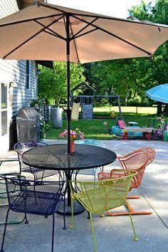 Create a backyard on