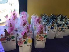 Unicorn candy bags for girls AND boys!
