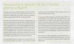 En la revista de Julio de la FEHV, Byom! presenta su oferta especial para asociados