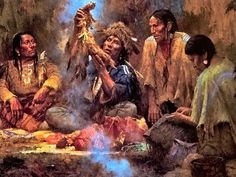 Opening the Sacred Bundle by Howard Terpning