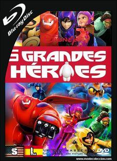 6 Grandes Héroes 2014 1080p HD | Dual Audio ~ Movie Coleccion