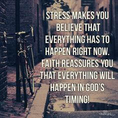 Stress vs Faith