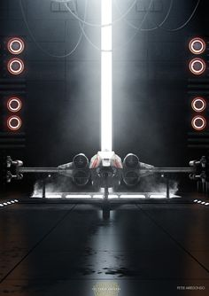 X-Wing & Tie Fighter by Peter Arredondo