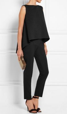 LOVE these loose, yet not too loose, ankle pants