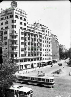 Bucuresti, b-dul Balcescu, 1955 Socialist State, Socialism, Warsaw Pact, Central And Eastern Europe, Bucharest Romania, Time Travel, Buildings, Germany, Memories