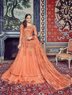 Buy Online Designer Suit or shuits Peach Color, Net material, Chiffon dupattas, Ceremonial Wear, Partywear, Kitty Partywear for women, Anarkali Suits, Anarkali suit, shuits for women.. We have large range of Anarkali suits in our website with the best pricing and unique designs shipping to (UK, USA, India, Germany, UAE, Canada, Singapore, Australia, Mauritius, New Zealand) world wide.