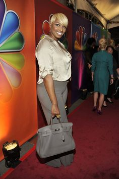 """""""2012 NBC Upfront Presentation"""" Red Carpet/Green Room roaming -- Pictured: NeNe Leakes """"The New Normal"""" -- (Photo by: Charles Sykes/NBC)   #NewNormal"""