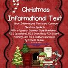 Are you looking for Informational Text that focuses on Christmas? Then do I have the product for you! This packet contains 5 short pieces written t...