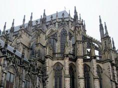 Utrecht achterkant domkerk