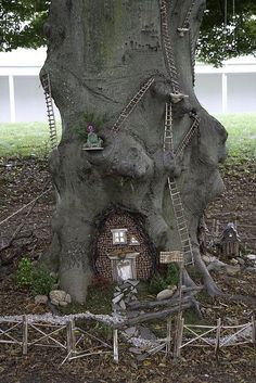 2009 Faerie Houses at the Florence Griswold Museum...and they are coming back October 2012!